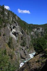 Cheakamus canyon, Canada