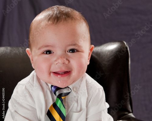 Business Baby Portrait