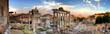 Leinwanddruck Bild - rome hdr panoramic view