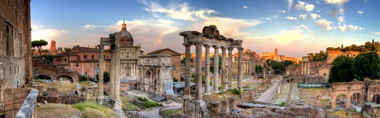rome hdr panoramic view