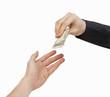 Business Cash Transaction.