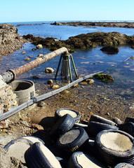 pollution,déversement dans la mer