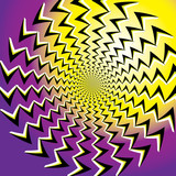 Emanation (motion illusion) poster