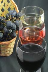 Vin rouge,rosé,blanc