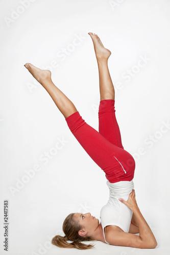 Foto op Plexiglas Fitness yoga-pilates