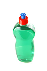 color bottle of clean soap