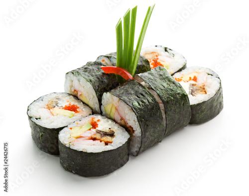 Japanese Cuisine - Sushi © Ryzhkov