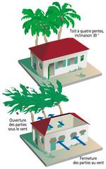 Cyclones, ouragans et typhons - Prévention et construction