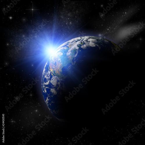 3d-ziemska-planeta-w-blekitnym-sloncu