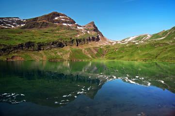 Spiegelungen im Bachsee