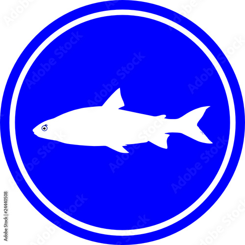 Vector fish sign for Www plenty of fish sign in