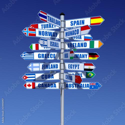 Länder und Flaggen
