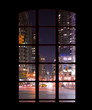 Manhattan outside my window - night shoot