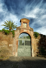 Ancient ruin at Palatino