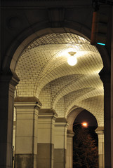 Arched Subway Cieling