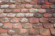 Roofing Tile - old exterior tiles, surface texture