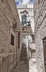 Alleyway. Giovinazzo. Apulia.