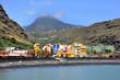 Leinwanddruck Bild - Puerto de Tazacorte, La Palma