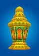 Arabic colorfull Lantern for Ramadan and Eid