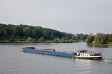 Frachtschiff Potsdam poster