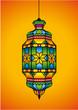 Arabic lantern for Ramadan Kareem and Eid Mubarak
