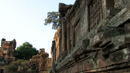 Ruins Ancient Temple, Angkor Wat