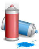 Fototapety Aerosol paint spray.