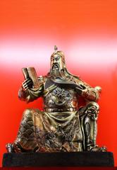 bronze statue of Guan Gong