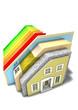 Haus-Querschnitt