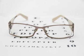test eye chart