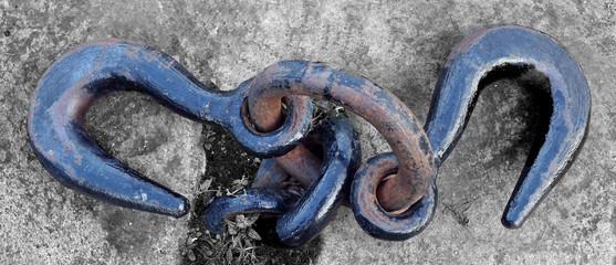 Hooks at Dublin Quayside