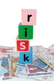 cash risk in toy play block letters