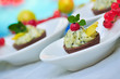Catering-süße Canapes