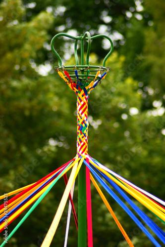 Fotobehang Carnaval May Pole