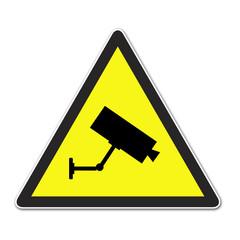 Señal aviso camara de vigilancia