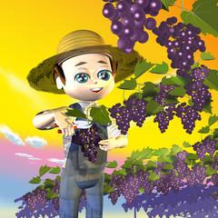 Coltivatore uva