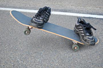 Invisible Skateboarder