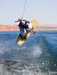 Man wakeboarding at Lake Powell 08 - 24478168