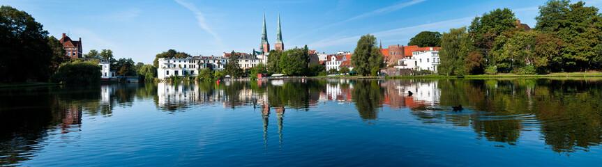 Panorama der Lübecker Altstadt