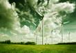 Wind turbines, ecology