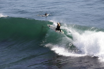 Carving the lip