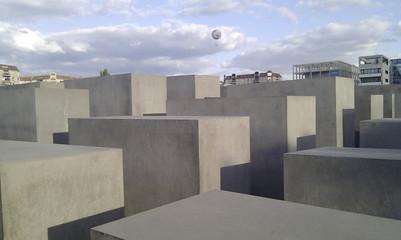 HOLOCAUSTDENKMAL BERLIN, DEUTSCHLAND