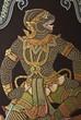 Hanuman the king of monkeys in the Ramayana
