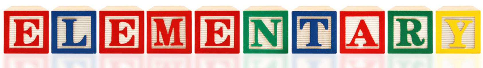 Alphabet Blocks Elementary