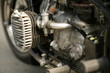 Leinwandbild Motiv Oldtimer Motorrad