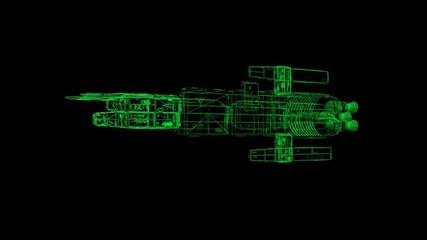 Vektor - Raumschiff