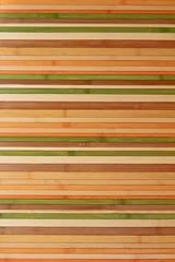 bambuszaun natur und eingefärbt