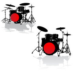 drummer solo set.Vector