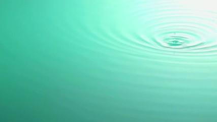 水滴の波紋