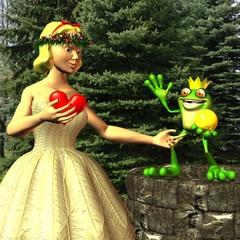Froschkönig und Prinzessin